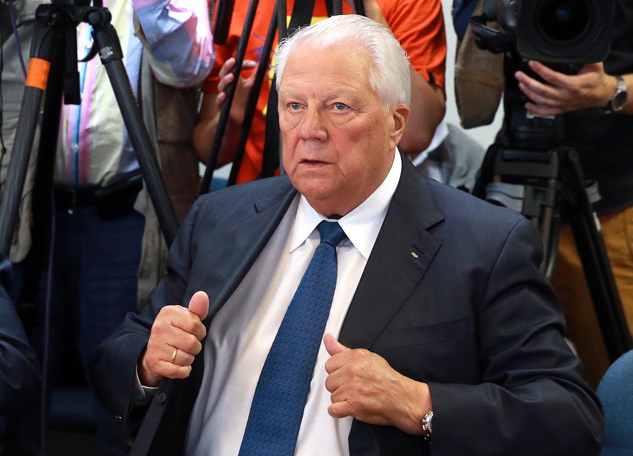 Le sauvetage du sport russe a été confié à Vitaly Smirnov, le plus prestigieux des fonctionnaires sportifs russes.