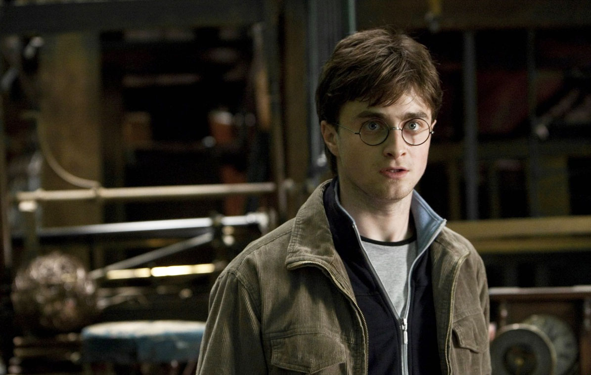 A screenshot from 'Harry Potter and the Deathly Hallows: Part 2' movie, 2011.