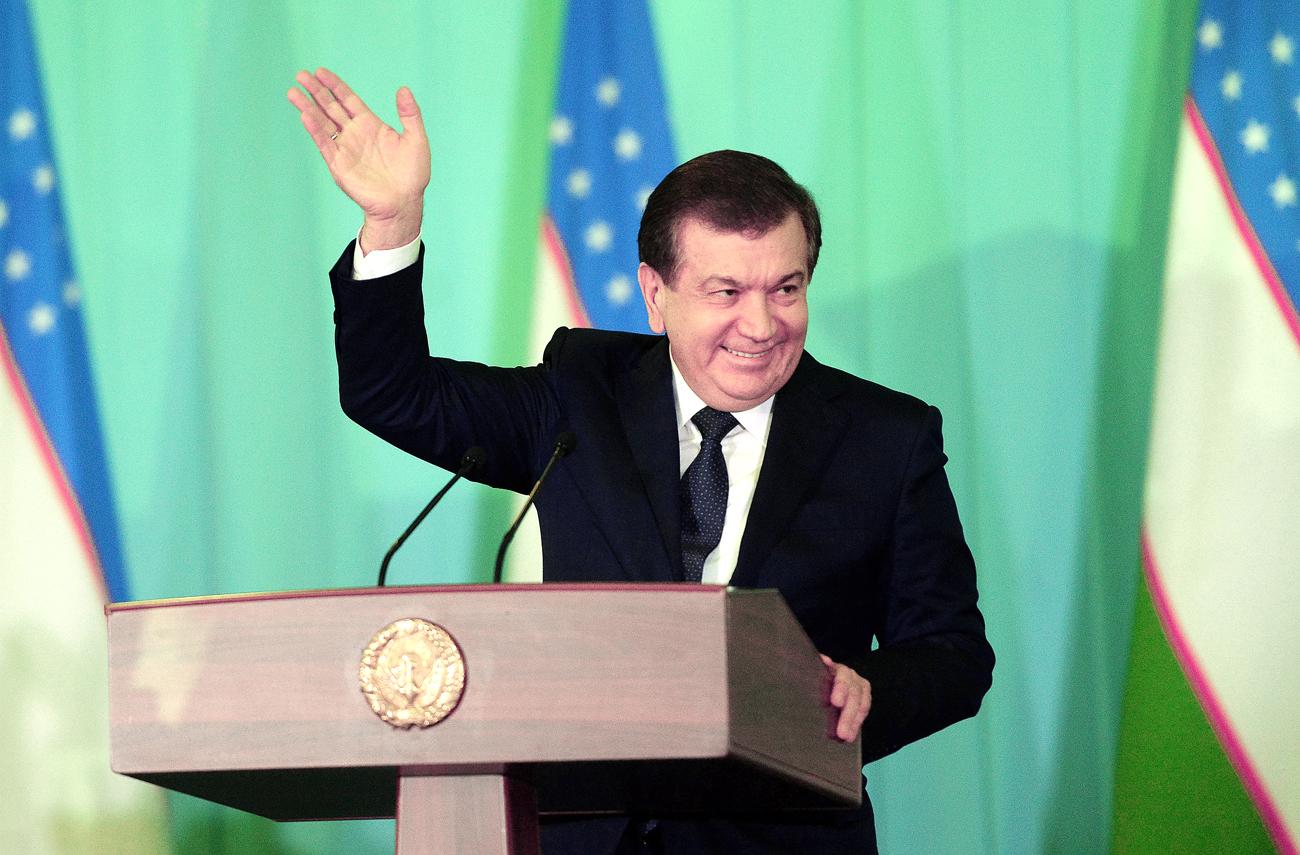 Uzbek Prime Minister Shavkaat Mirziyoyev won the presidential elections in Uzbekistan on Deс. 4.
