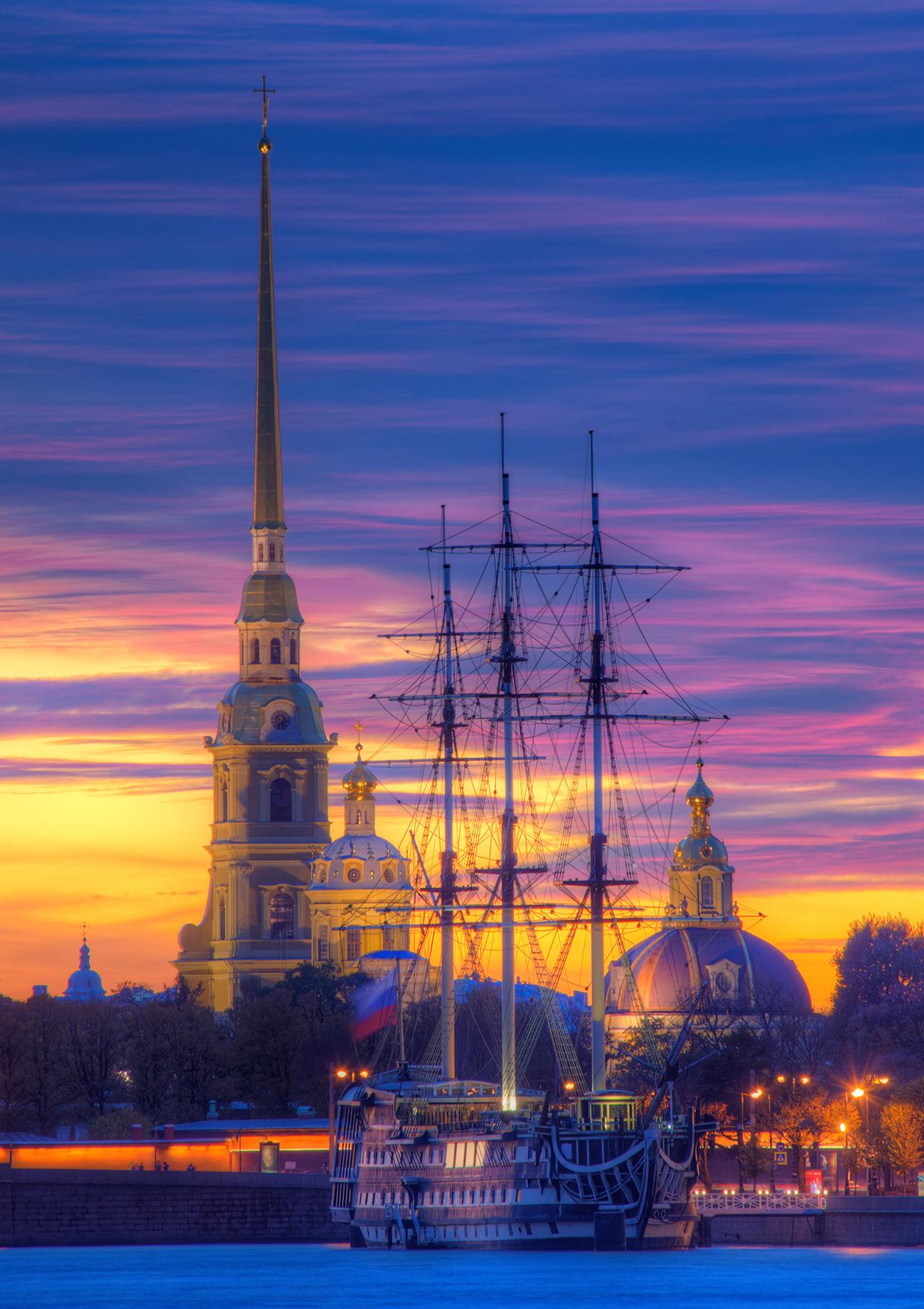 La forteresse Pierre-et-Paul à Saint-Pétersbourg. Crédit: Lori / Legion-Media