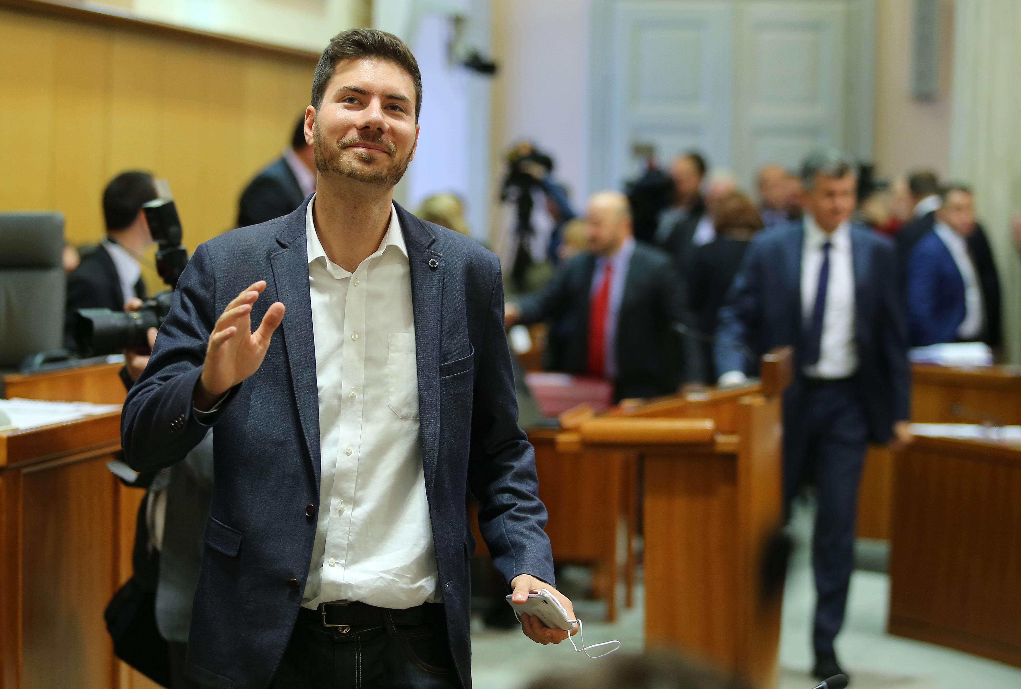 Saborski zastupnik Živog zida Ivan Pernar /