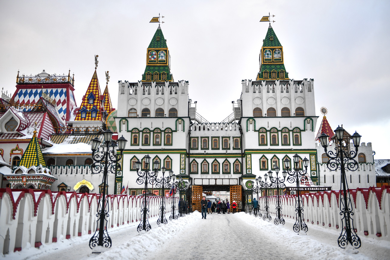 The Kremlin in Izmaylovo cultural and entertainment complex.