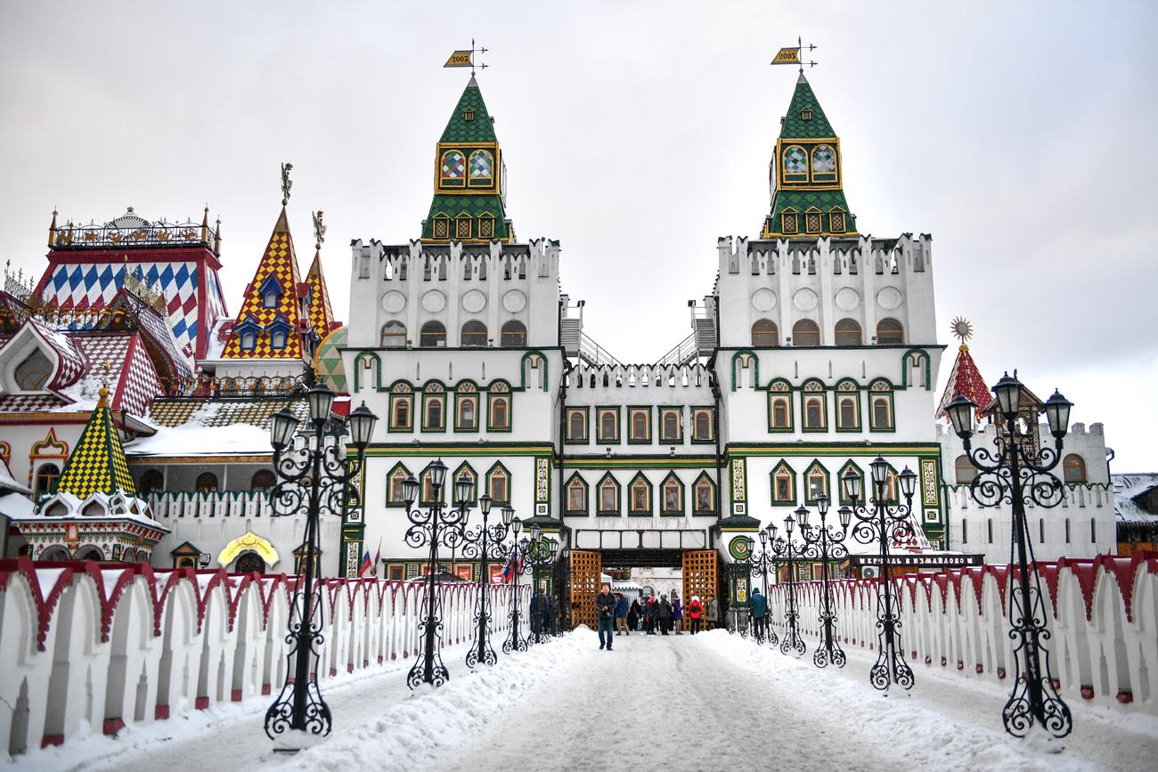 Културниот и забавен комплекс Кремљ во Измајлово.