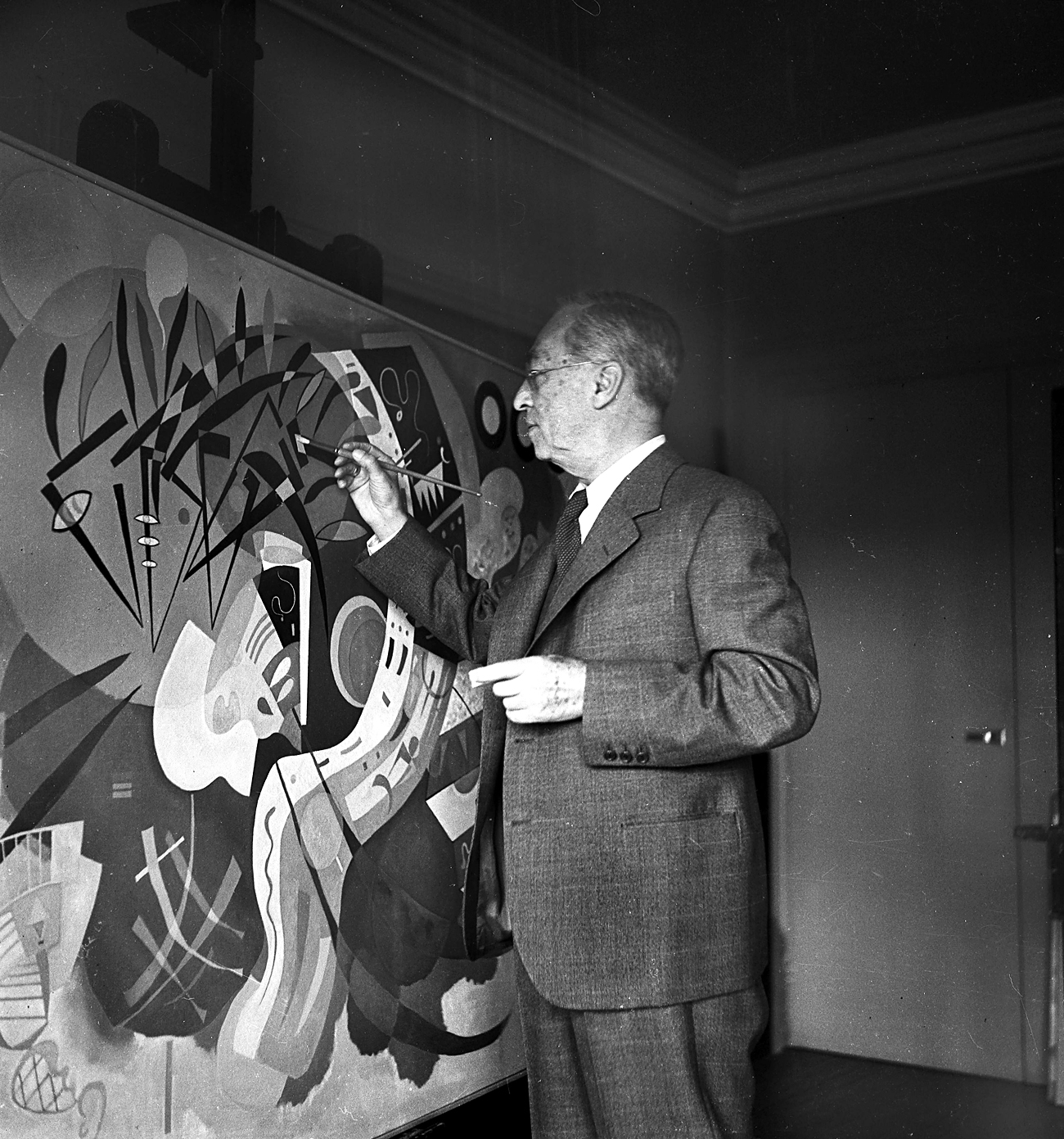 Kandinsky teve diversas obras escondidas durante a URSS por não representar ideias da época
