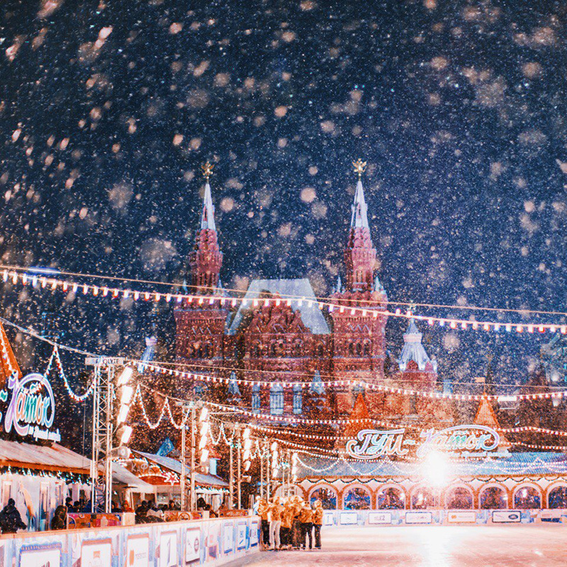 Postcards with dazzling icy views usually paint a false picture: for the typical Muscovite winter means slush and mud, dirty boots, grey skies, and exhausted people all around.