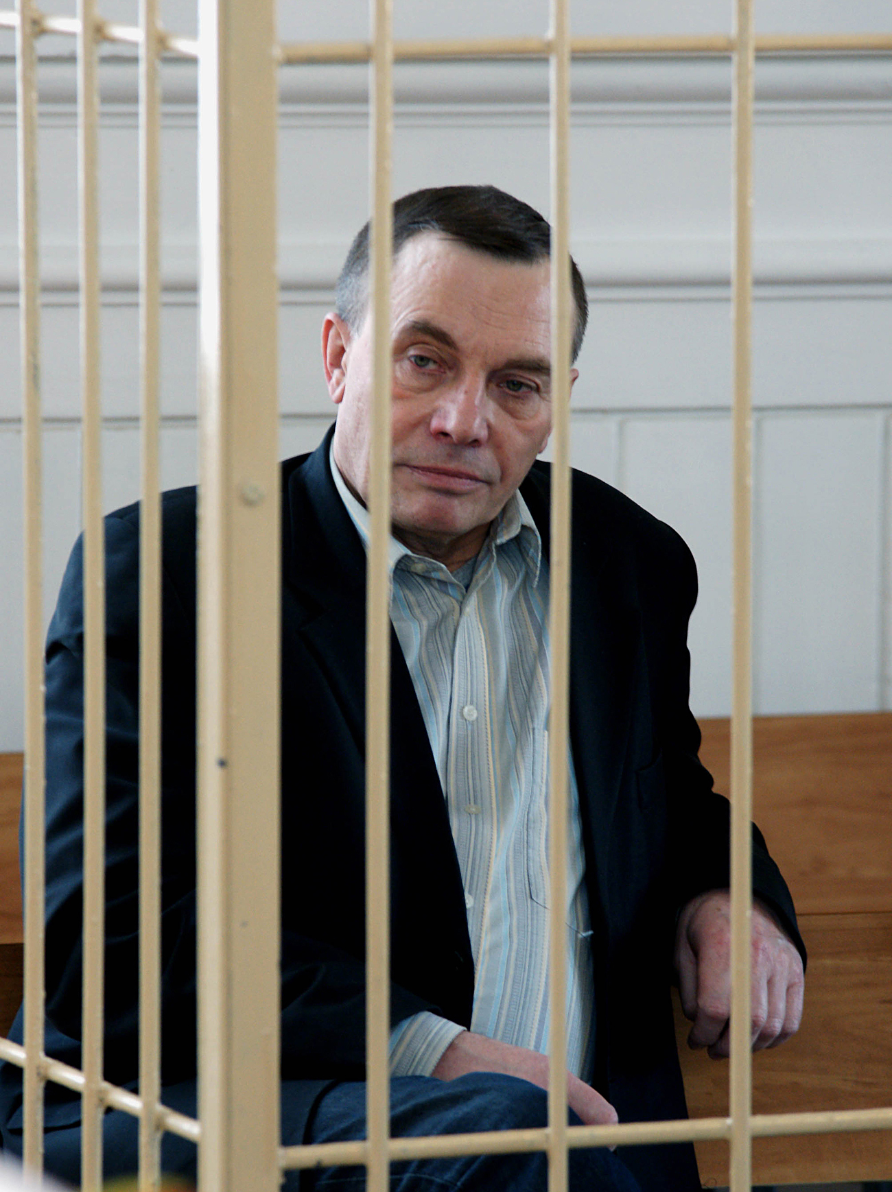 Nikolai Utkin, the former mayor of Togliatti, an automotive industrial center on the Volga, was tried by the Samara regional court for bribery and abuse of office. Source: Yuri Streletc/RIA Novosti