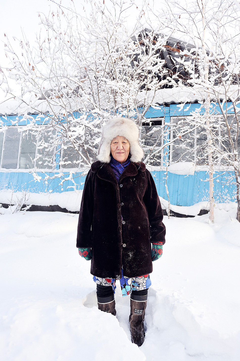 « En hiver, tous les matins, nous allumions la radio pour écouter la météo. Le meilleur moment, c'était quand l'école était annulée pour les jeunes enfants à cause du froid. Cela arrivait assez souvent ».