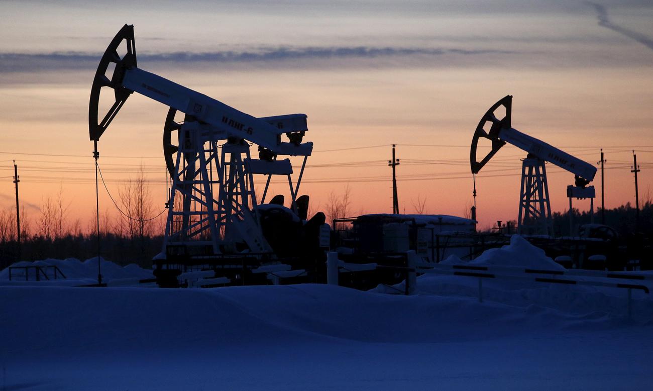 Pozzi di petrolio.