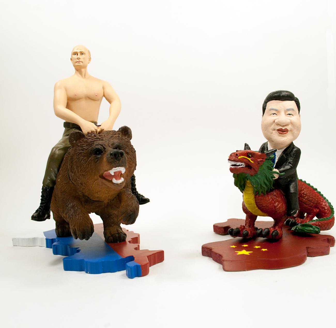 Emresas rusas empiezan a fabricar objetos con la imagen de Vladímir Putin