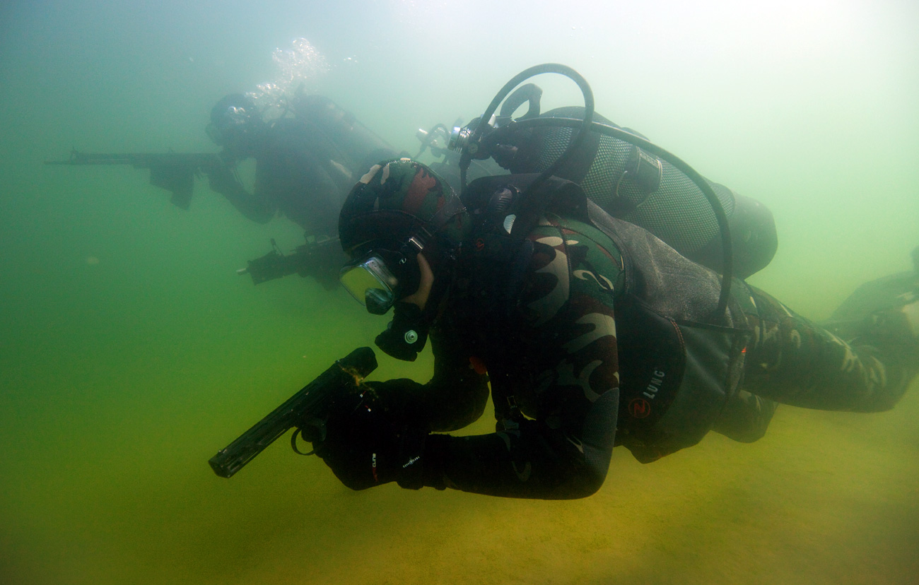 Today, several special units have already been supplied with the Underwater Diver Panel.