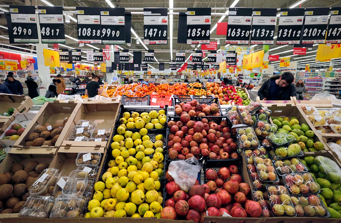 2014. godine se koštičavo voće u Rusiju najviše uvozilo iz Španjolske i Grčke, 2015. iz Turske, a 2016. iz Srbije.