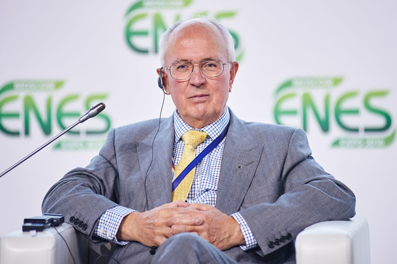 2012 Global Energy Prize winner Rodney John Allam at The Global Energy Prize Summit 2016 in Moscow. Source: Press photo