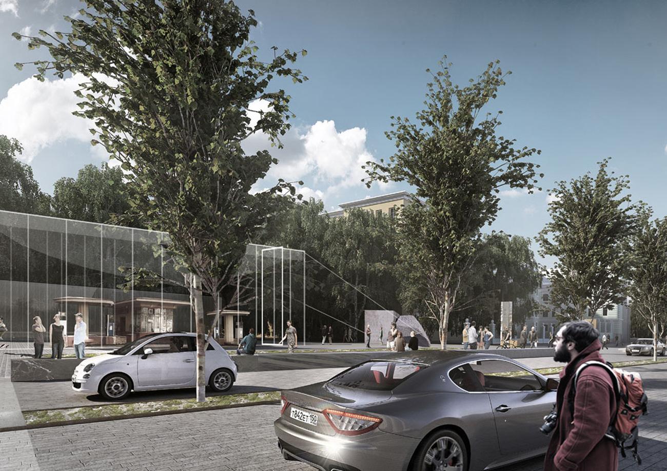 Il progetto del futuro centro museale\n