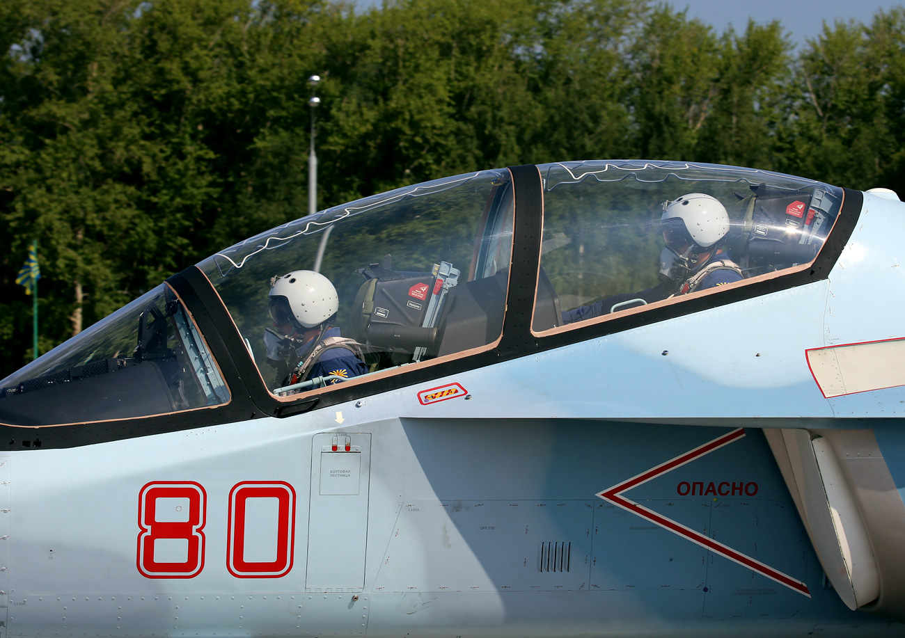 "The Yak-130 displayed at the International ""ARMY Games"" 2016."
