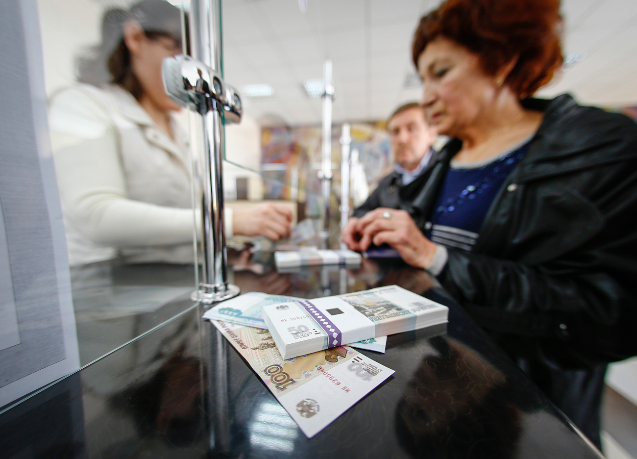 Russians' real disposable income has fallen by 12.3 percent since 2014.
