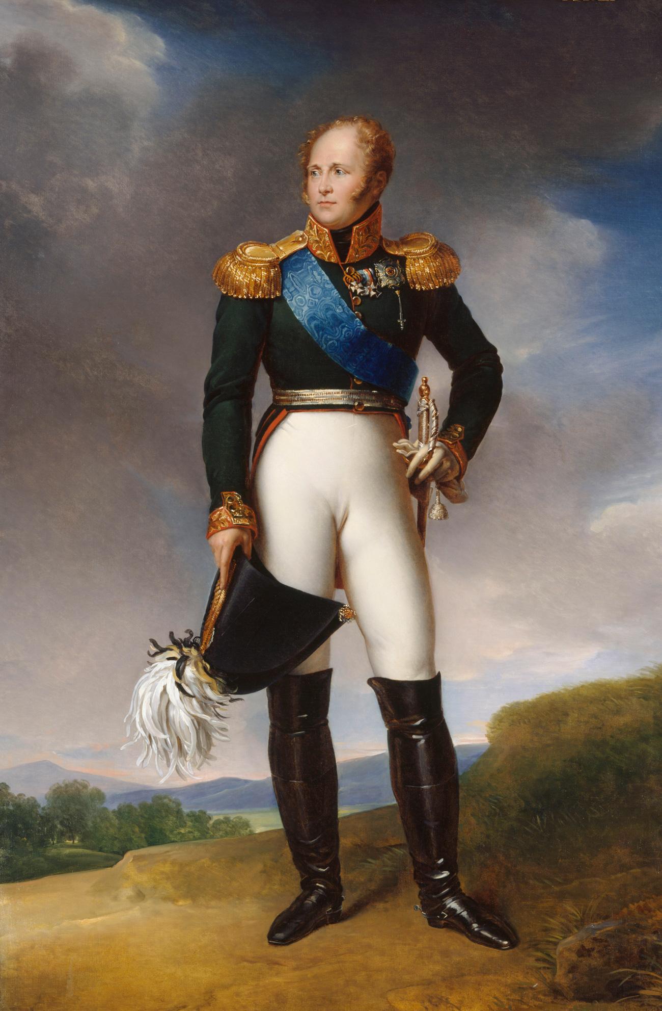 Zar Alejandro I. Foto: Archivo