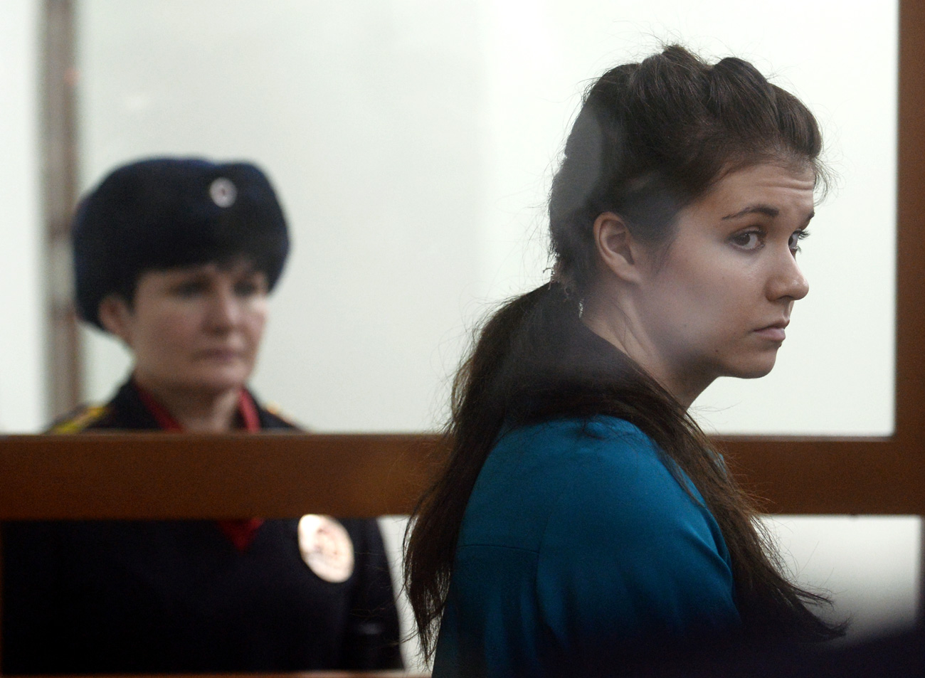 """The court's decision is Karaulova is guilty, she is sentenced to 4 years and 6 months in a penal colony."""