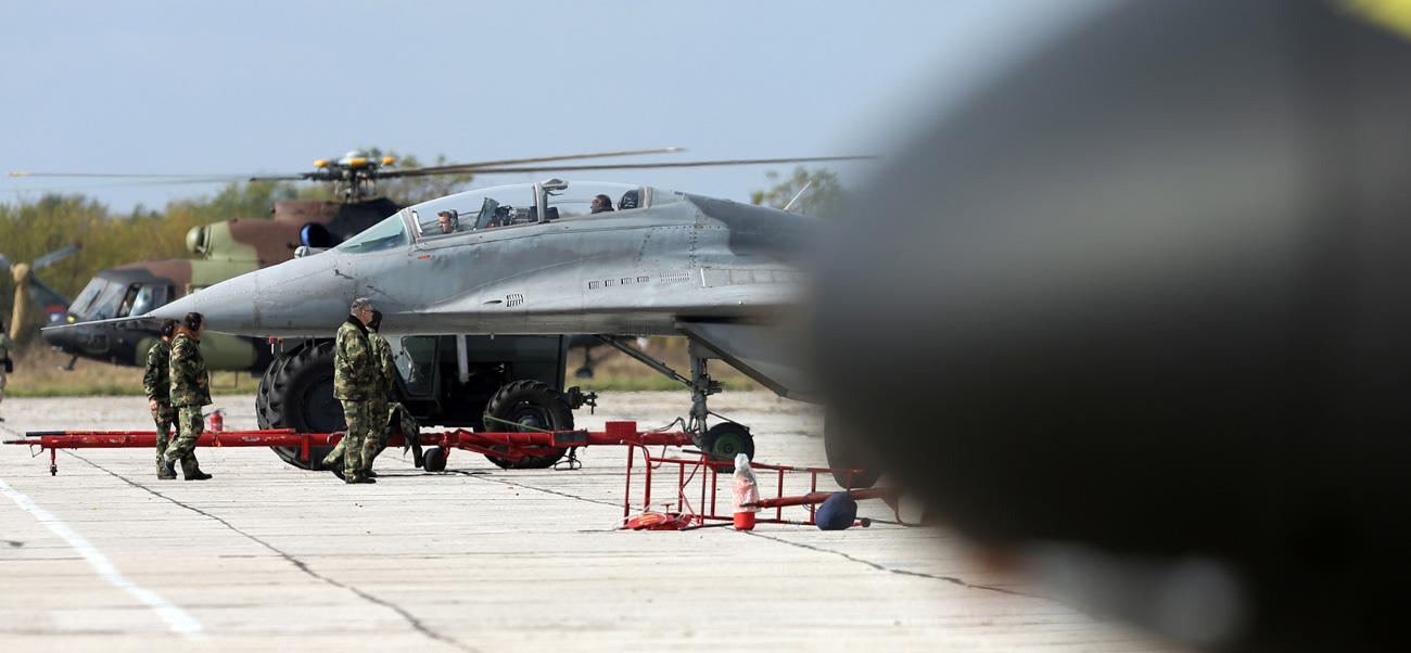 Српски МиГ-29, Батајница /