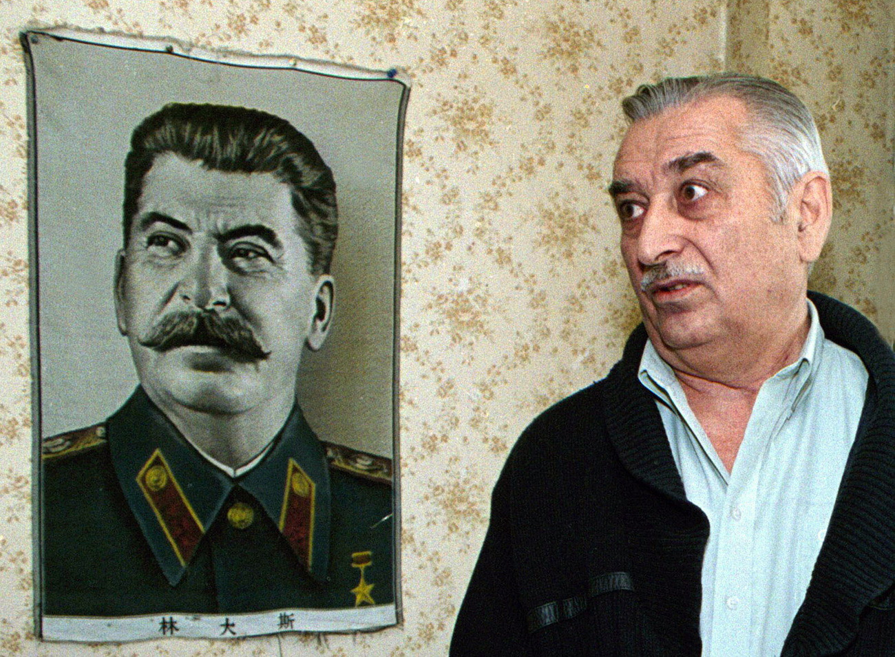 Yevgeny Dzhugashvili, cucu diktator Soviet Joseph Stalin.