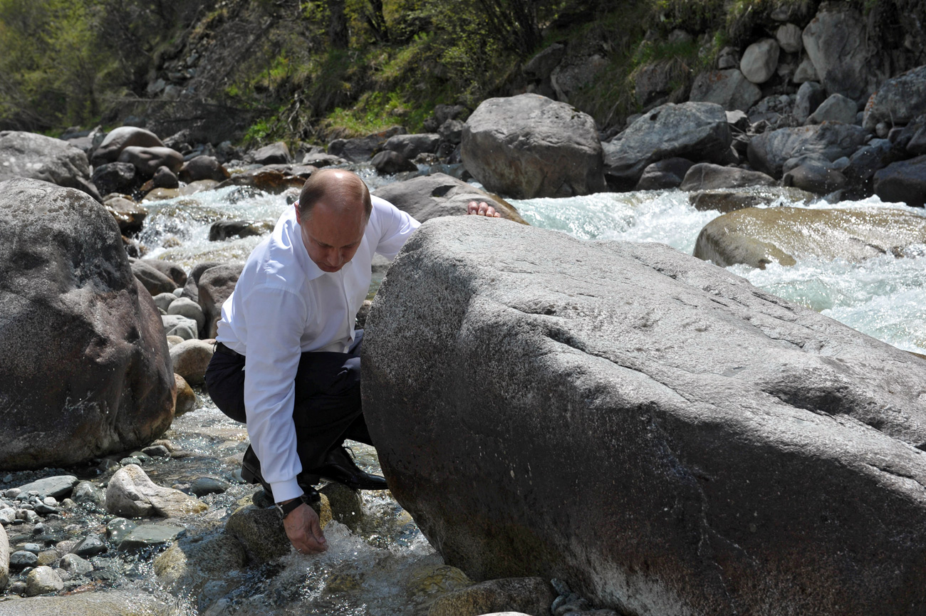 The stress on nature has reached critical values, Vladimir Putin said.