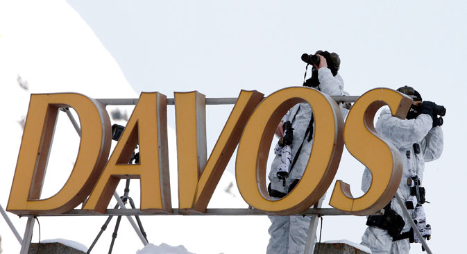 The World Economic Forum will be held in Davos from January 20-23.