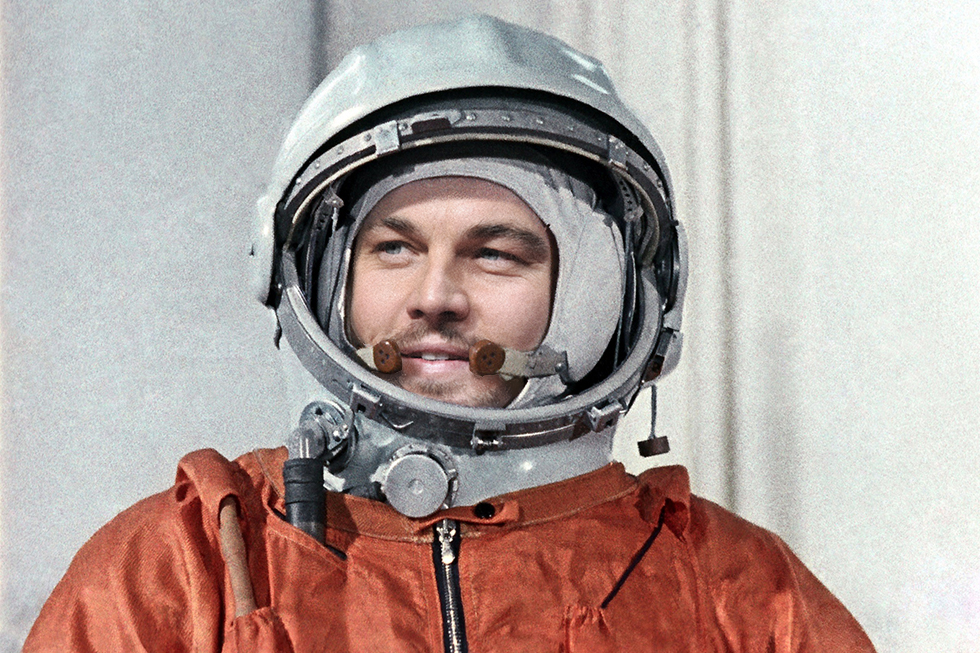Yuri Gagarin – Leonardo is a perfect fit to play the first man in space.