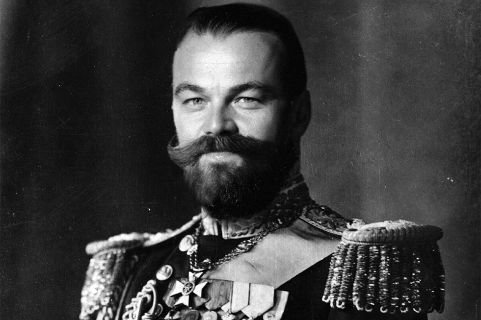 Nicholas II – the last Emperor of Russia. This role would require the actor to grow a thick mustache, but all other attributes are already perfect.