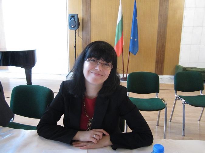 Майя Ломидзе по време на българо-руската кръгла маса в Москва за развитие на туризма.