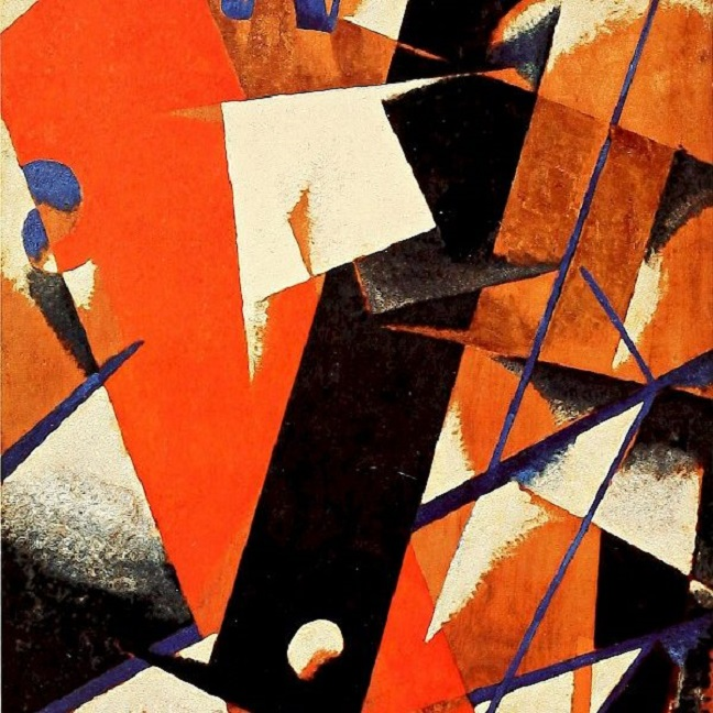 Lyubov Popova, Space-force Construction, 1921.