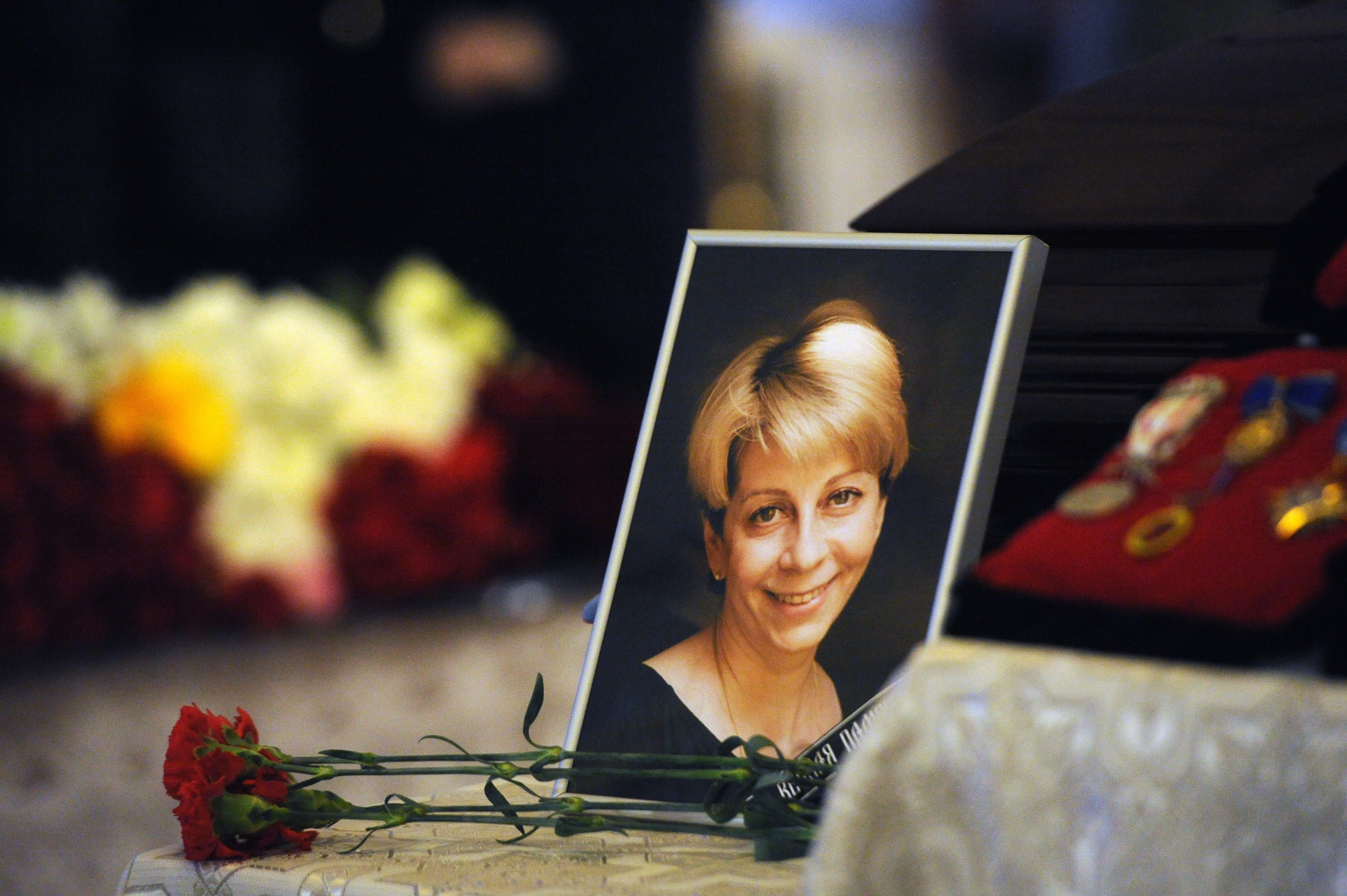 The plane was carrying nearly three dozen members of the Alexandrov Ensemble as well as charity activist Elizaveta Glinka and nine Russian reporters.