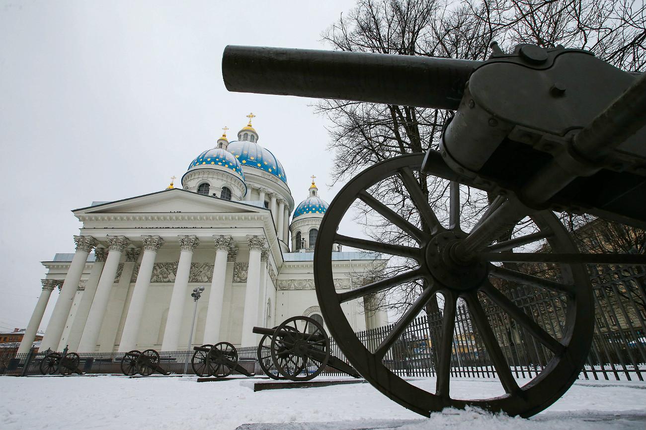 La Cattedrale sotto la neve. Fonte: Peter Kovalev / TASS