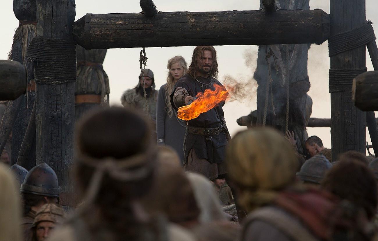 Scène du film Viking.