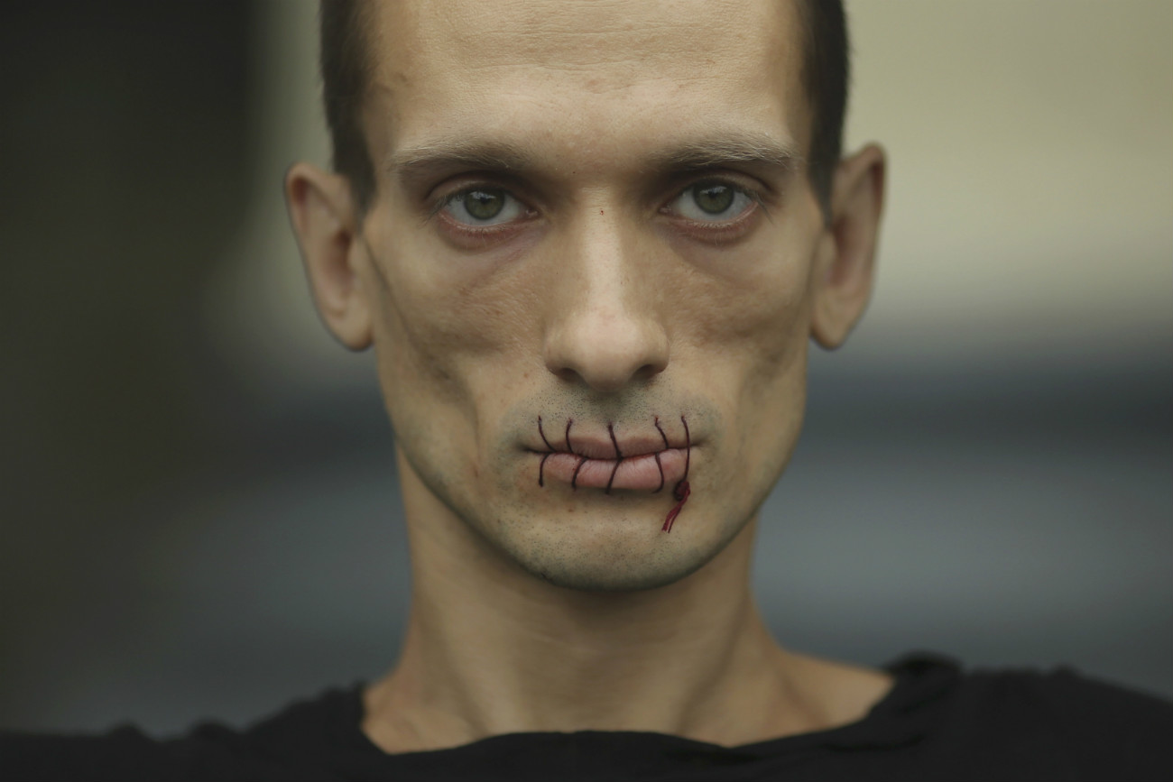 Petr Pavlenskij.