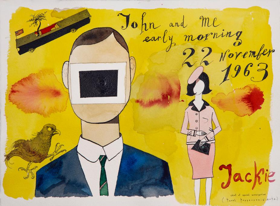 """""""John and me early morning 22 November 1963. Jackie"""" by Pavel Pepperstein"""