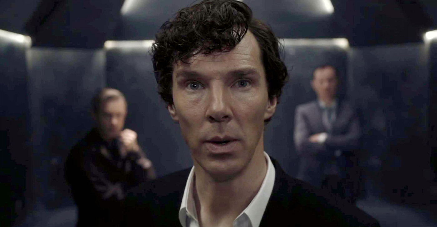 "A screenshot from the TV show ""Sherlock."""