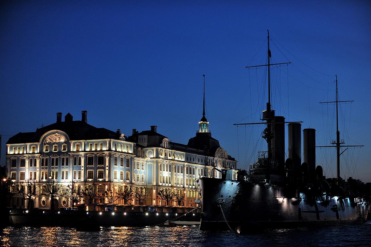 São Petersburgo, então Petrogrado