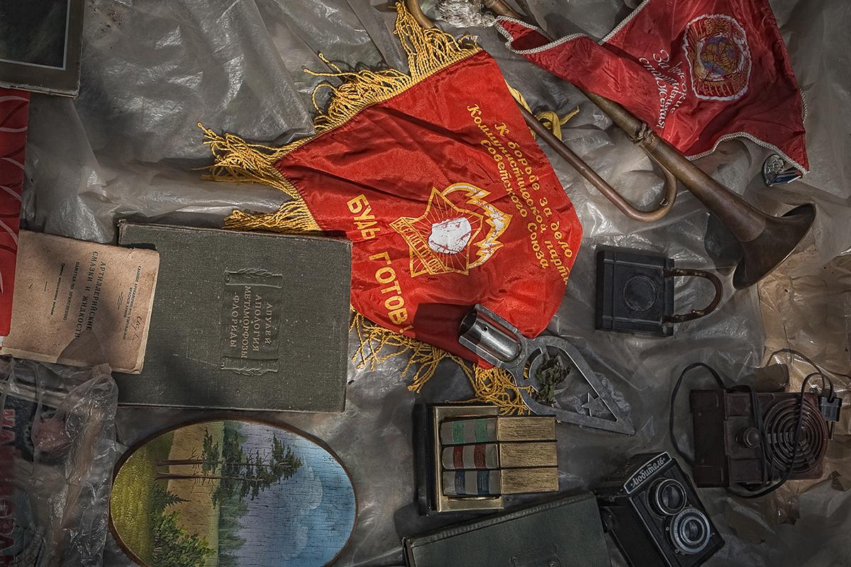 Artefatos originais podem ser encontrados em feiras Foto: Iúri Molodkovets