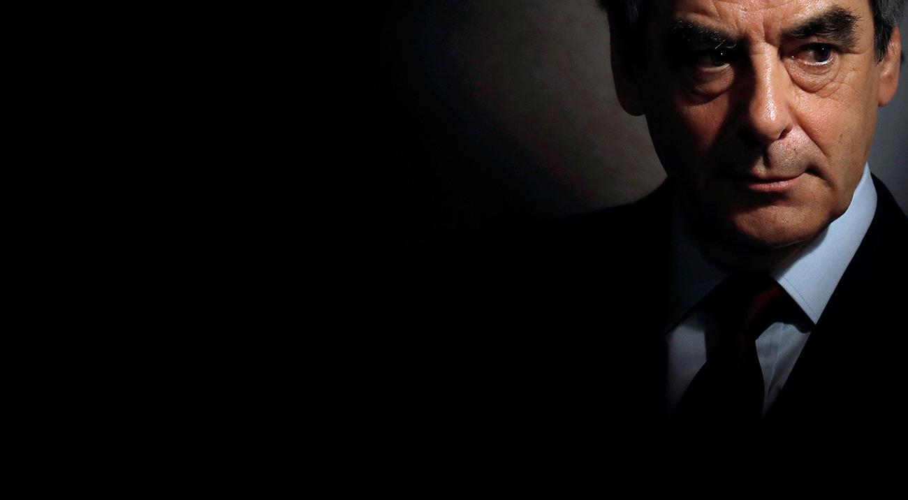 Le candidat Les Républicains à la présidence française, François Fillon.