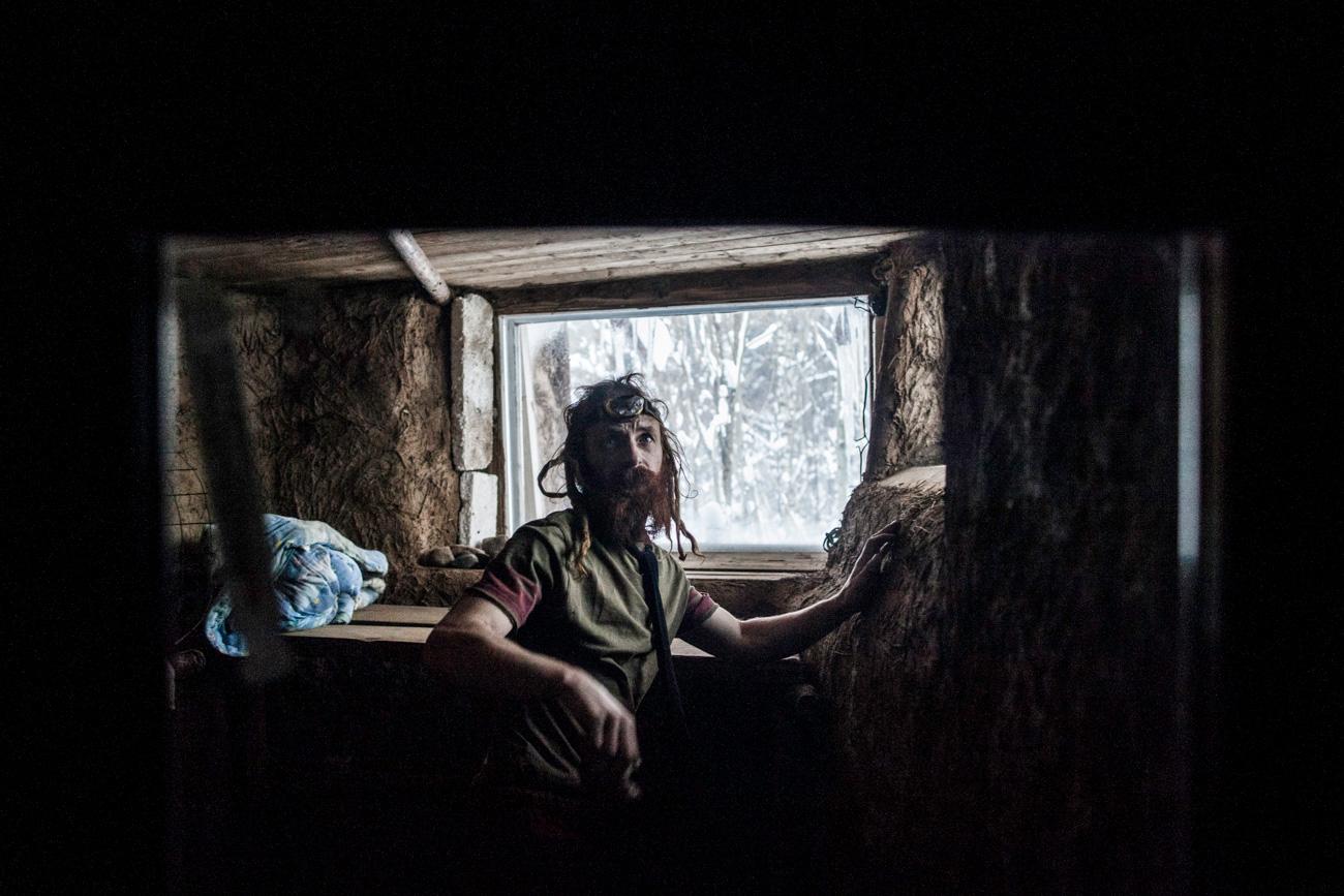 Recentemente, construiu também uma bânia (sauna russa) em sua casa.