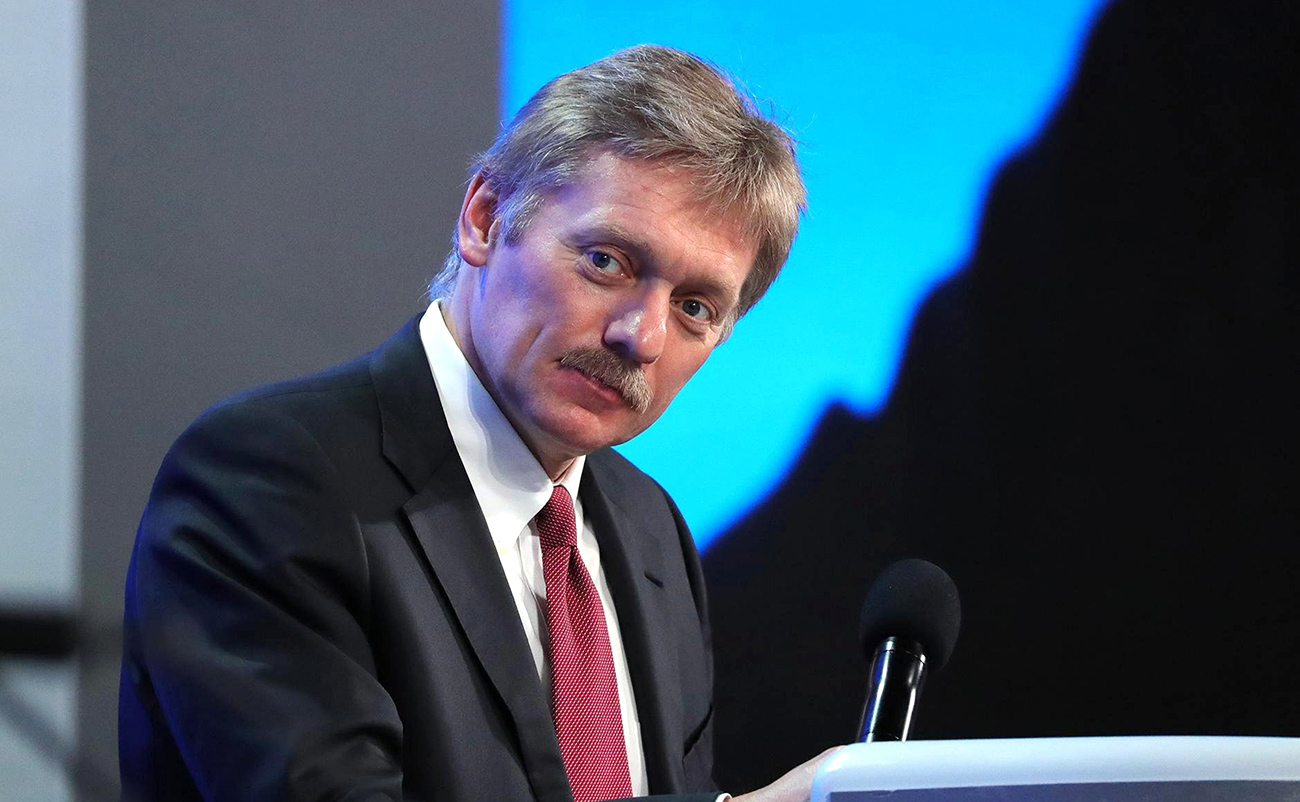 Presidential Press Secretary Dmitry Peskov.
