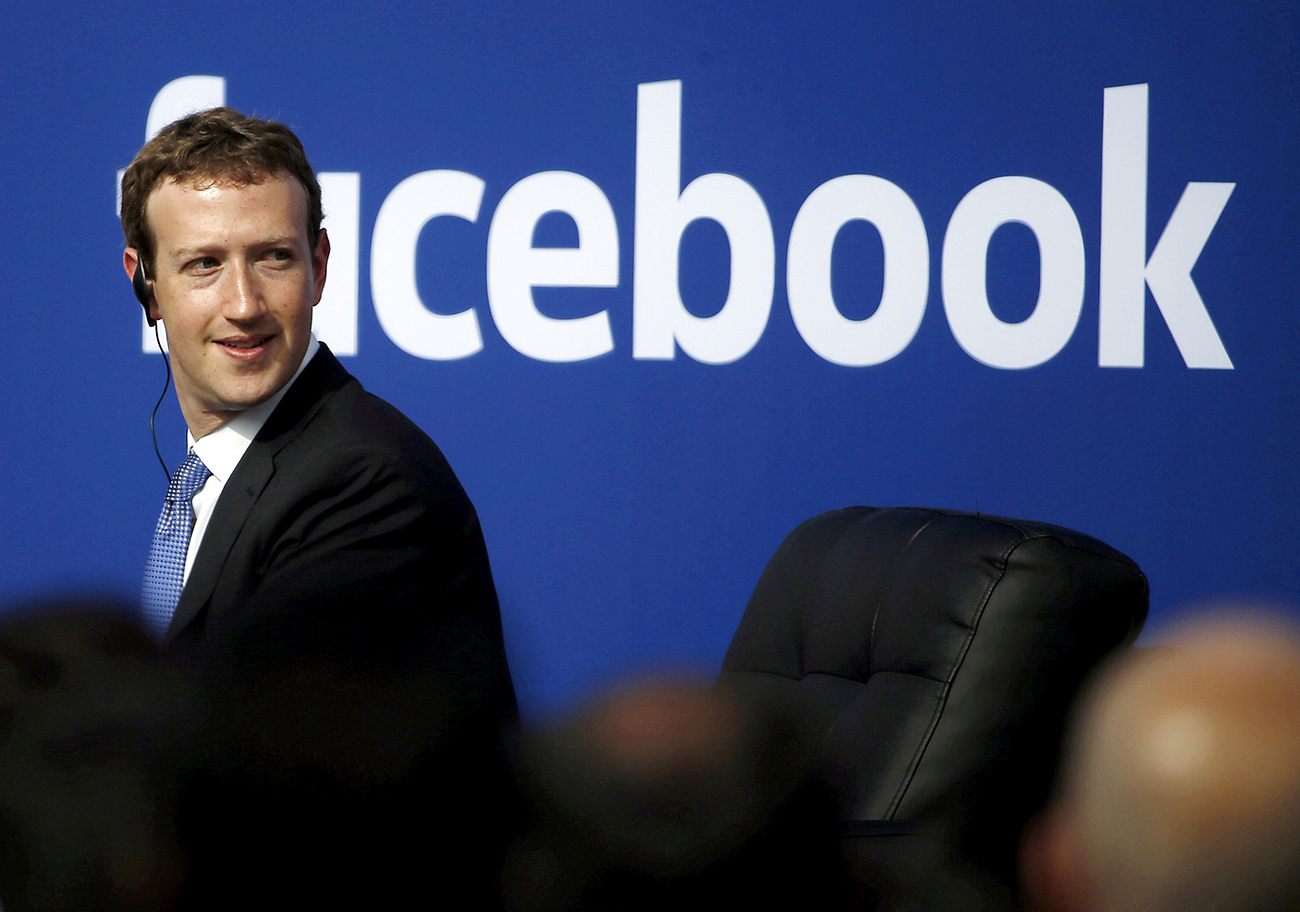 Mark Zuckerberg, šef Facebooka. Vir: Reuters