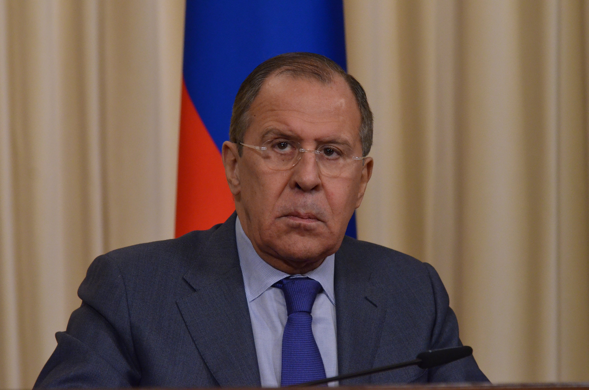 Russia's Foreign Minister Sergei Lavrov said coordination between the Russian and US military will begin taking shape as soon as conditions allow.