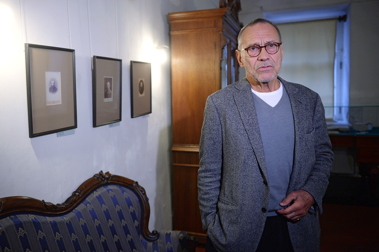 Konchalovsky was granted the medal for his latest film, Paradise, which dwells on the topic of the Holocaust. Photo: Director Andrei Konchalovsky.