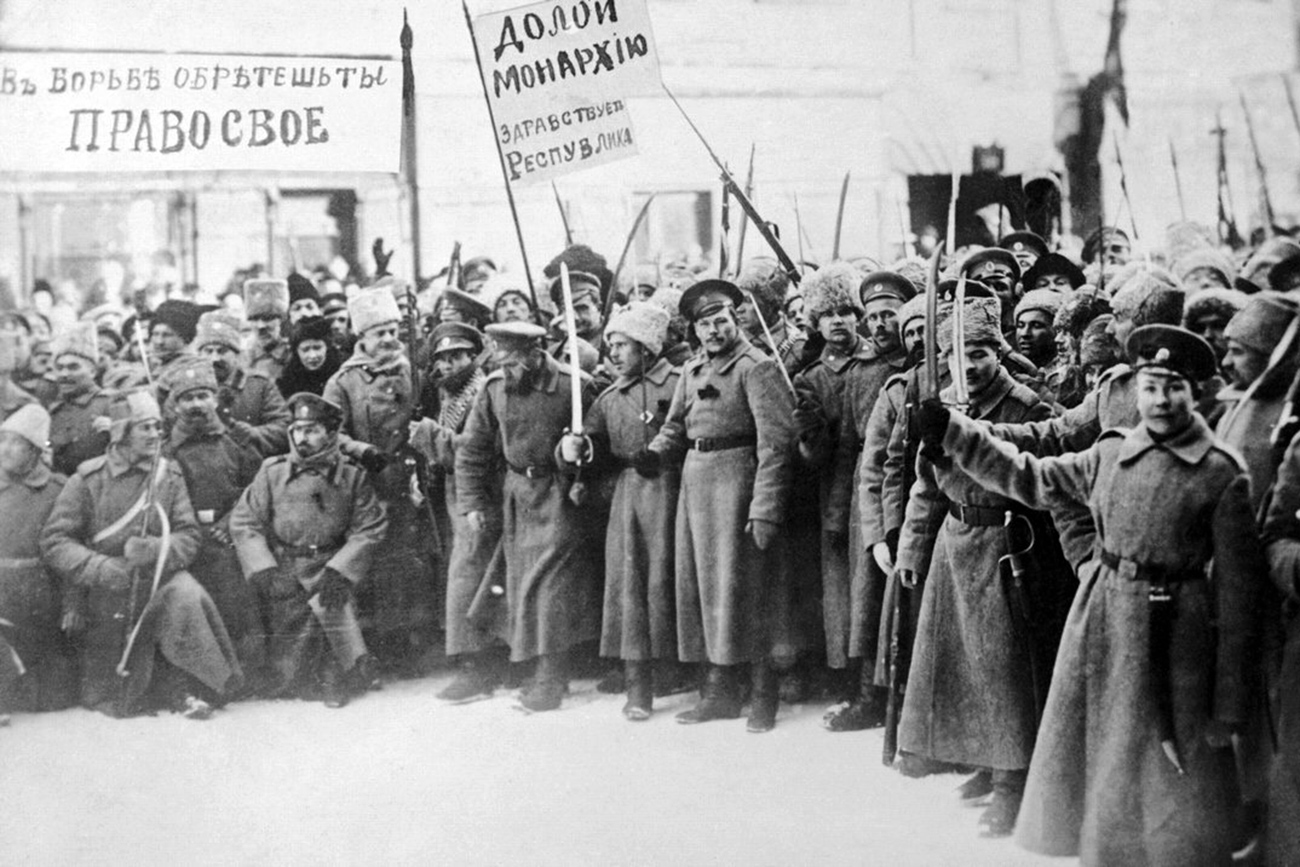 a brief history of the russian revolution of march 1917 The february revolution of 1917 (march germany declares war on russia, causing a brief this issue is subject to conflicting views on the communist history.