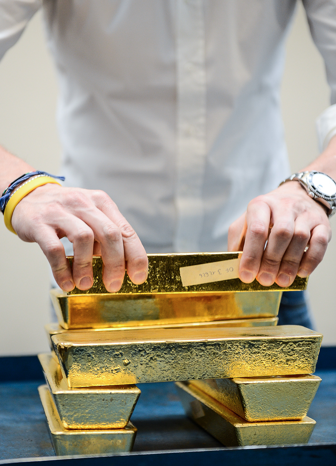 While Russia does not have a Fort Knox, almost two-thirds of the nation's gold is kept in a Central Bank repository in Moscow. The rest is stored away in St. Petersburg and Yekaterinburg.