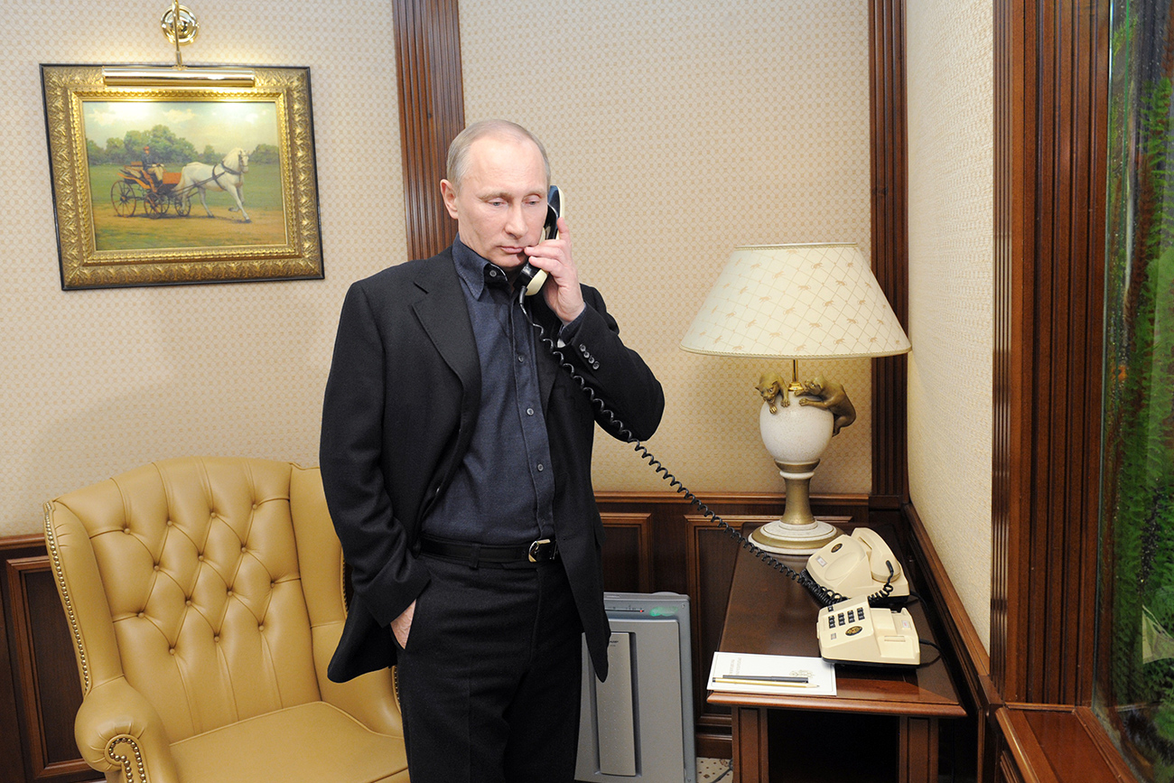 Putin and Trump have already held several telephone conversations but have not yet met in person.