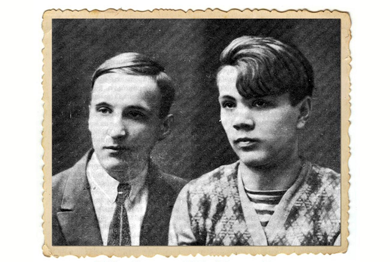 Grigory Belykh (Grishka) and Leonid Panteleev (Lyonka), 1928. / Archive photo