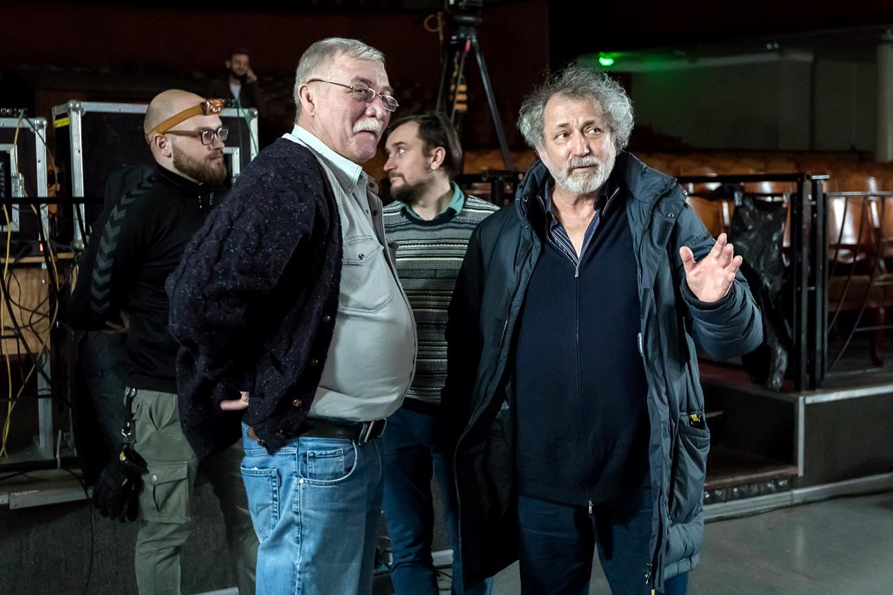 Boris Eifman (à droite).n