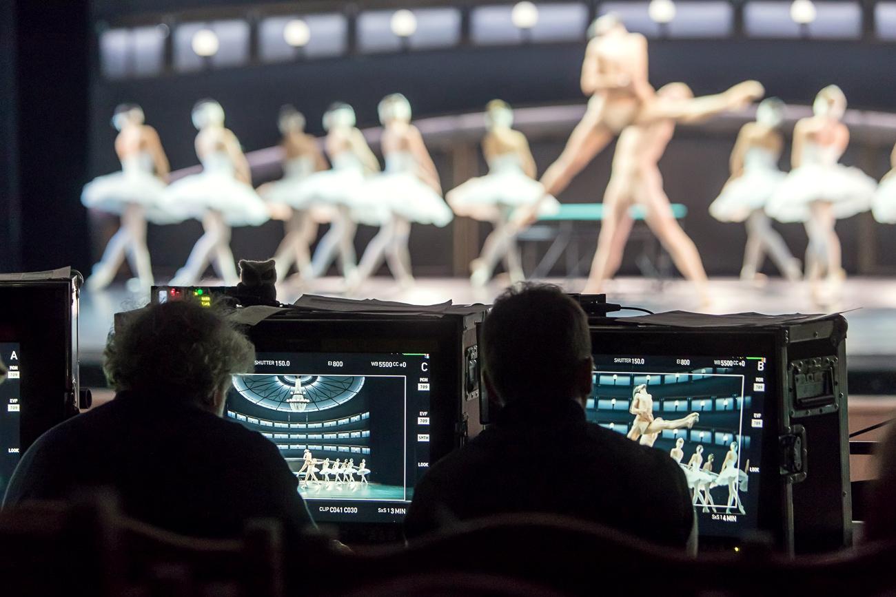 バレエ映画「チャイコフスキー:プロとコントラ」の撮影=エヴゲニ・マトヴェエフ\n