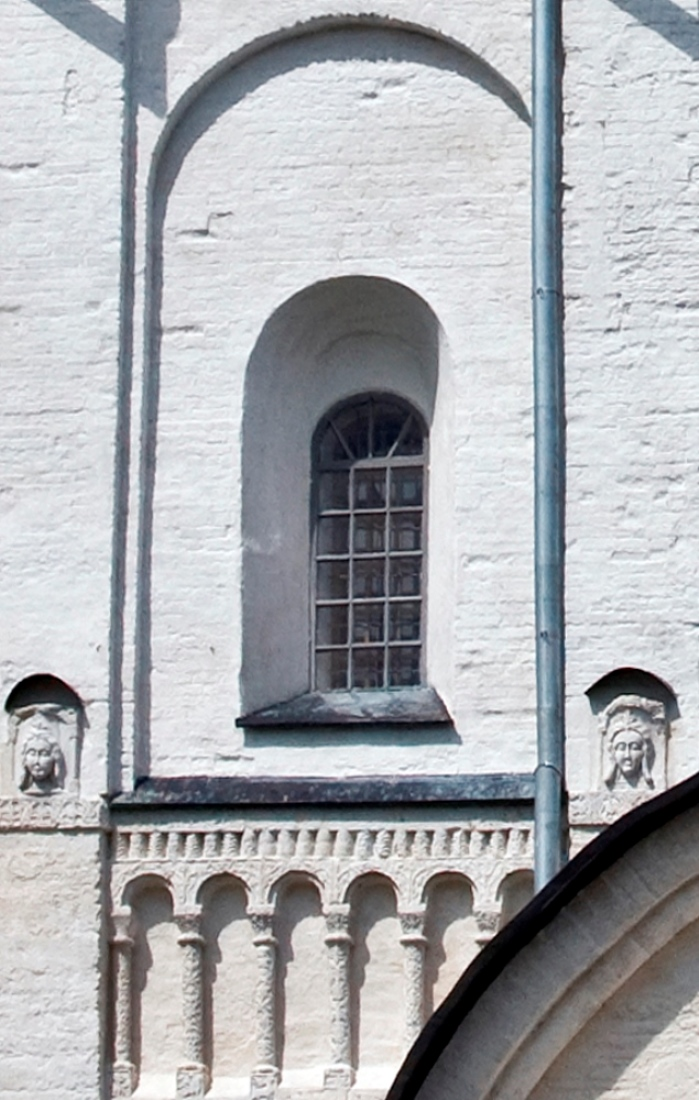 Cathedral of Nativity of Mother of God, south façade. May 29, 2007. / Photo: William Brumfield
